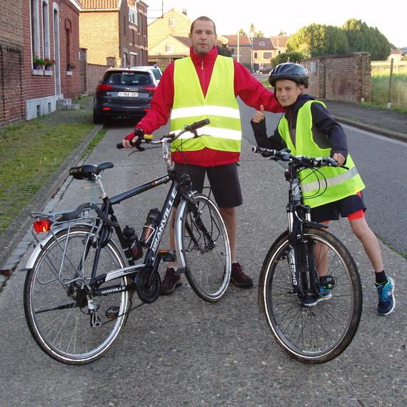 Martin & Jack au Solidarity Bike